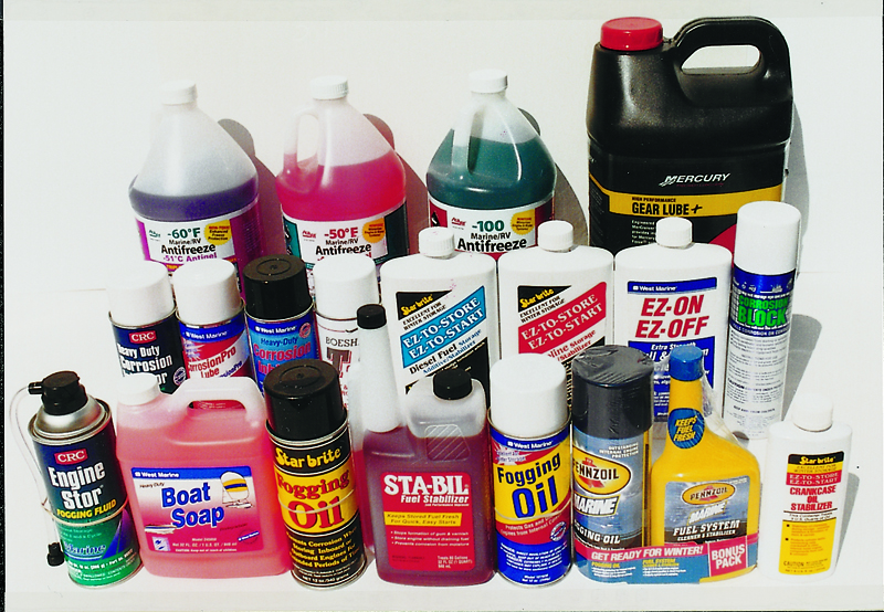 All these winterizing products (and more) are available from West Marine.